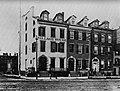 Amerikanischer Photograph um 1885 - Hudson Street bei der Bank Street (Zeno Fotografie).jpg