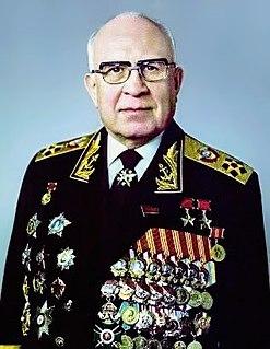 Sergey Gorshkov Soviet fleet commander