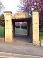 An Entrance to Town Hall Gardens, Chatham - geograph.org.uk - 816715.jpg