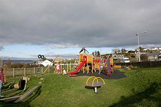 Gaeltacht na nDéise - An Imearlann, the playground in An Rinn.