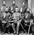 Ana Feldman, grupa srpskih oficira 1865.png