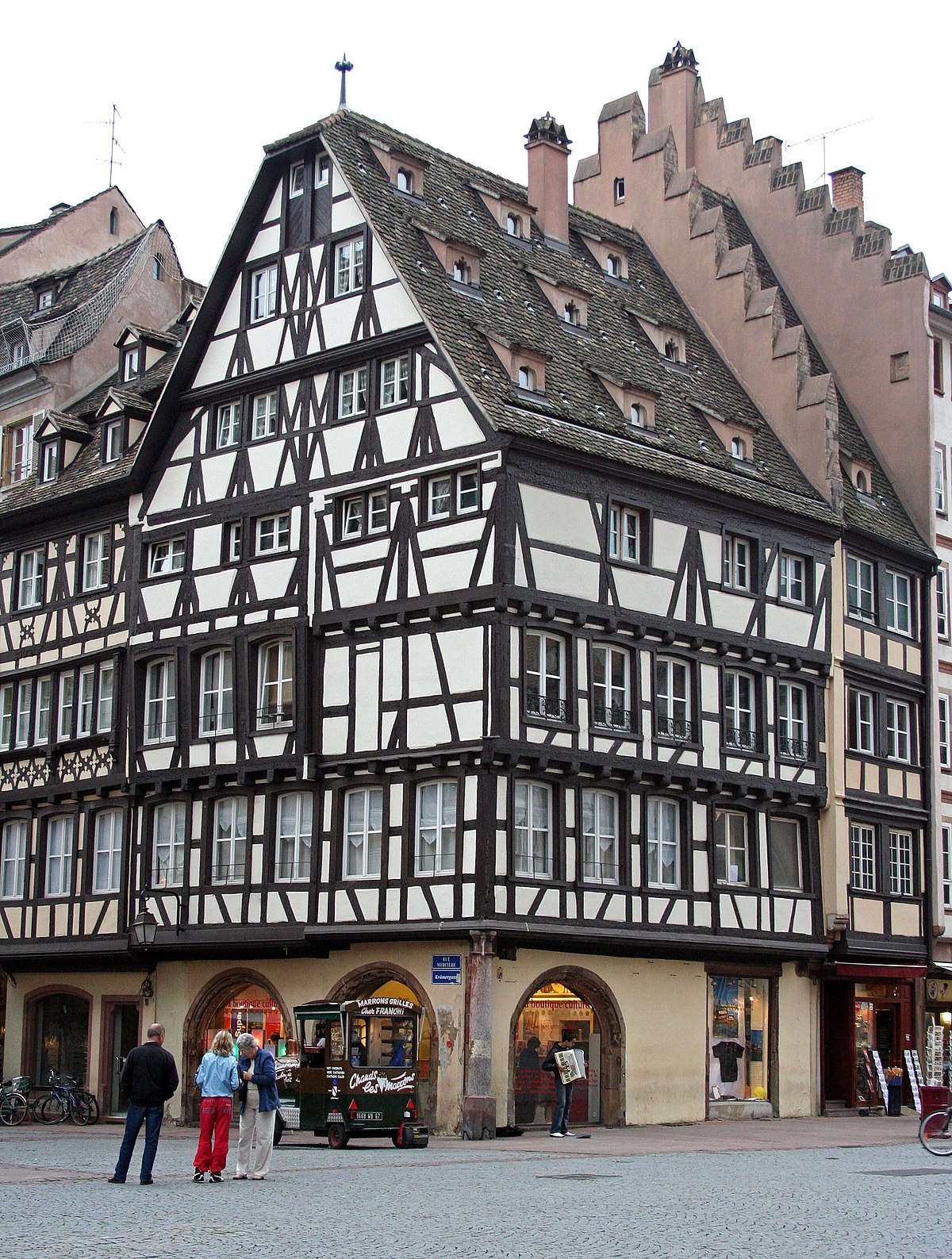 Immeubles au 11 rue merci re strasbourg wikip dia for Strasbourg architecture