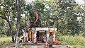 Ancient Vishnu Temple near Ghanta Chowki, Chandrapur district.jpg
