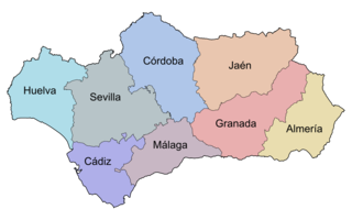 andaluzia mapa File:Andalucía por provincias.png   Wikimedia Commons andaluzia mapa
