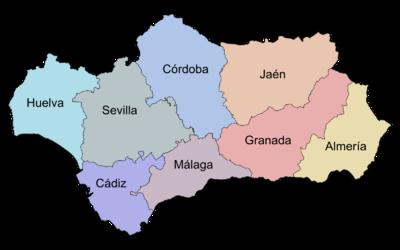 Provincies van Andalusië