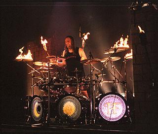 Anders Johansson (drummer) Swedish drummer