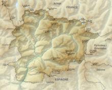 Géographie de l'Andorre — Wikipédia