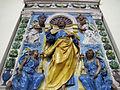 Andrea della robbia (bottega), altare, 1510-20, 02.JPG