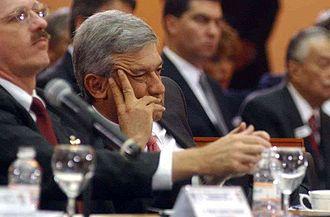 Desafuero of Andrés Manuel López Obrador - Andrés Manuel López Obrador