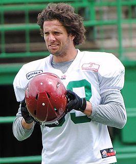 Andy Fantuz Canadian football player