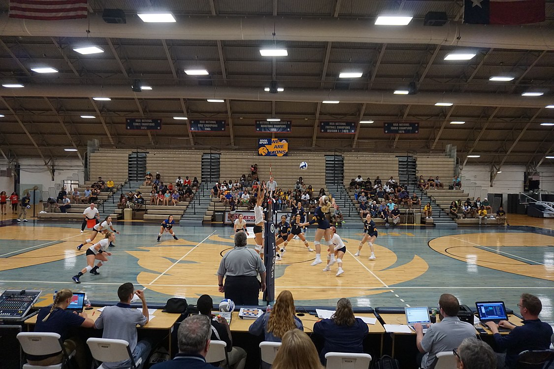 Angelo State vs. Texas A&M–Commerce volleyball 2017 14.jpg