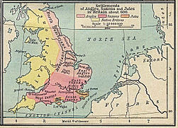 Angles, Saxons, Jutes in Britain year 600.jpg