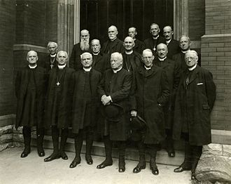 Anglican Church of Canada - Anglican archbishops and bishops of Canada, c. 1924