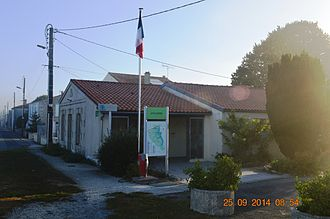 Angliers, Charente-Maritime - The Town Hall