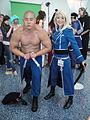 Anime Expo 2011 - Armstrong & Riza - Fullmetal Alchemist (5917929080).jpg