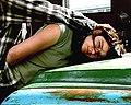 Anna Witt, Push, Video, 6 min. Venice Beach, 2006.jpg