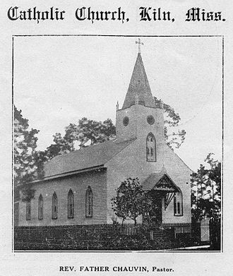 Kiln, Mississippi - Annunciation Catholic Church, 1919