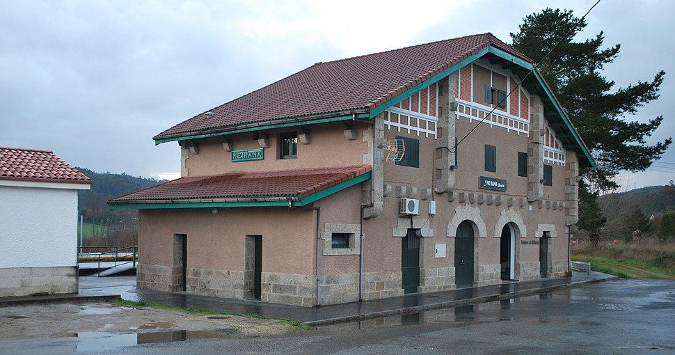 Antiga estación Meirama, Cerceda A Coruña