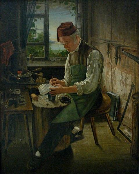 Datei:Anton Boch sen Bildnis Gebhard Weiss 1864 VLM.jpg