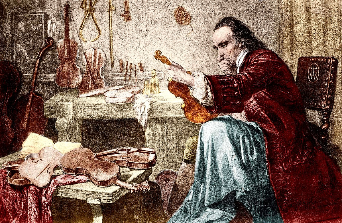 Resultado de imagen para foto de stradivarius nicolas el musico