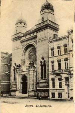 History of the Jews in Antwerp - Hollandse Synagogue in Antwerp