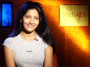 Anu Choudhury - Choudhury in TeachAIDS interview in 2013