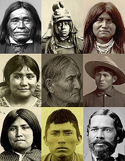 several culturally related groups of indigenous peoples of the United States
