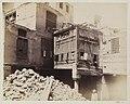 Arab house during demolition, Cairo.jpg