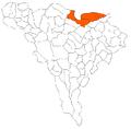 Aranyos seat's parts Alba county.png