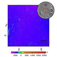 Arcadia Planitia - topography map.jpg