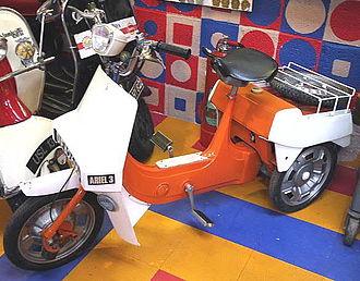 Tilting three-wheeler - Image: Ariel 3 cropped