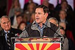 Arizona Governor Doug Ducey Speaks At Prescott Election Eve Rally (45738735662).jpg