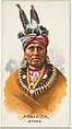 Arkikita, Otoes, from the American Indian Chiefs series (N2) for Allen & Ginter Cigarettes Brands MET DP828011.jpg