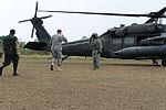 Army South CG salutes JTF-B crew chief 130410-A-PP526-023.jpg