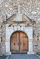 Arnoldstein Ruine des Benediktinerklosters Portal im Westen 05102016 4713.jpg