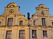 Arras' Flemish-Baroque style houses