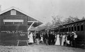 Arrival of first train at Linville Station Queensland 1910.tiff