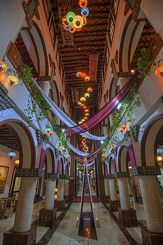 Qatari art - Art gallery in Souq Waqif