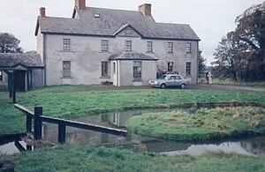 Arthur Bell Nicholls - Arthur Bell Nicholls's house in Banagher, Ireland