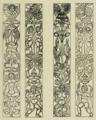 Arthur Byne (1917) Palacio Arzobispal de Alcalá de Henares, paneles de pilastras.png