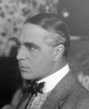 Arthur Maude - On set at Flying A Studios, 1916