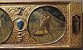 Artista fiorentino o senese, fatiche di ercole con stemmi ginazzi e boni, 1425-1450 ca. 04.JPG