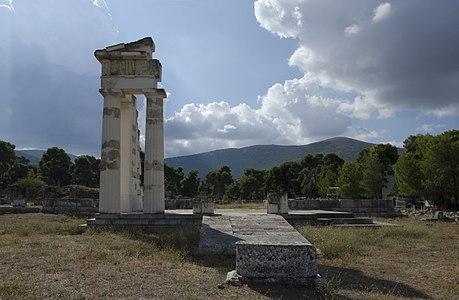 Rain clouds over Epidavros
