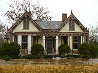 National Register of Historic Places listings in Marengo County, Alabama - Image: Ashe Cottage