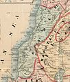 Asher. Rawson, A.L. Map of Palestine and all Bible lands. 1873.jpg
