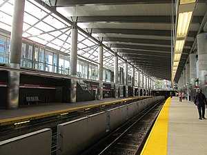 Ashmont (MBTA station) - Ashmont in September 2012 after the completion of renovations