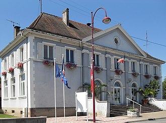 Aspach-le-Bas - The town hall in Aspach-le-Bas