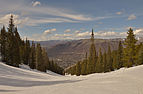 Aspen Mountain spring skiing Copper run.jpg