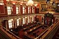 Assemblée nationale du Québec, l'Hôtel du Parlement, salle rouge.jpg