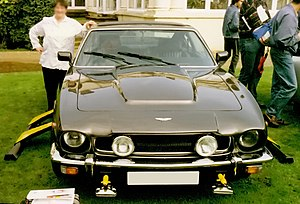The official car the Aston Martin V8 Vantage (...